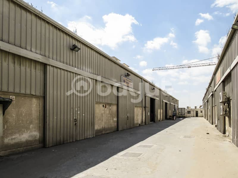 No commission spacious warehouse for storage