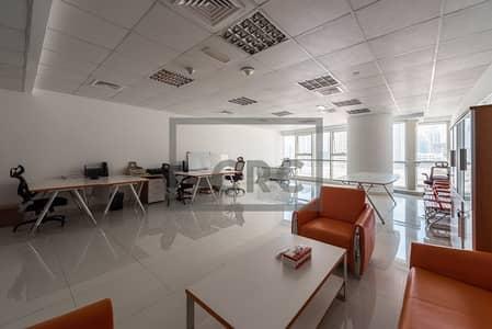 مکتب  للايجار في أبراج بحيرات الجميرا، دبي - Goldcrest Executive fitted & furnished office - Near Metro