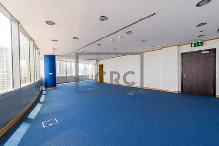 مکتب  للبيع في أبراج بحيرات الجميرا، دبي - High Floor Fitted Office Partition 2 Parking Gold Tower AU