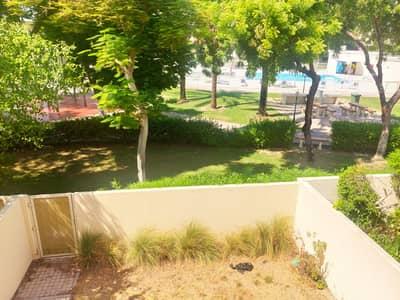 Garden facing Pool