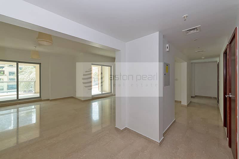 2 Unfurnished Duplex Podium Villa  | Private Terrace