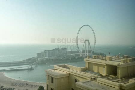 3 Bedroom Apartment for Rent in Jumeirah Beach Residence (JBR), Dubai - NO COMMISSION | 3 Bed | Sea View | 2 Months Free