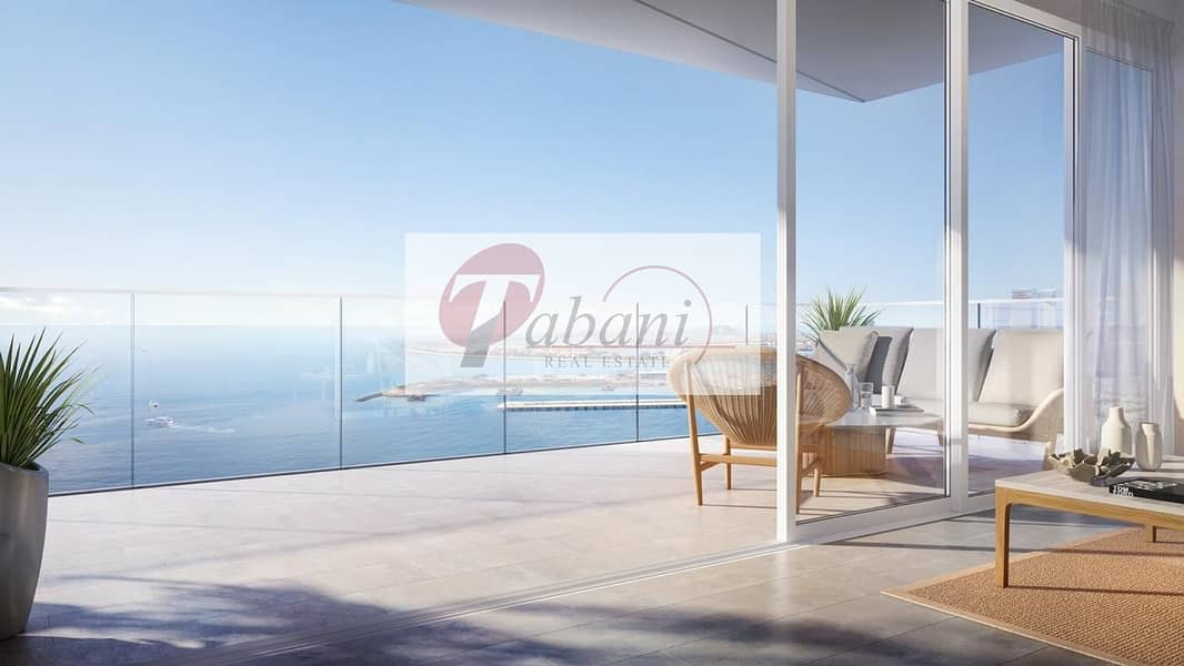 54 Full Panoramic Views of Palm Jumeirah Modern Finishing