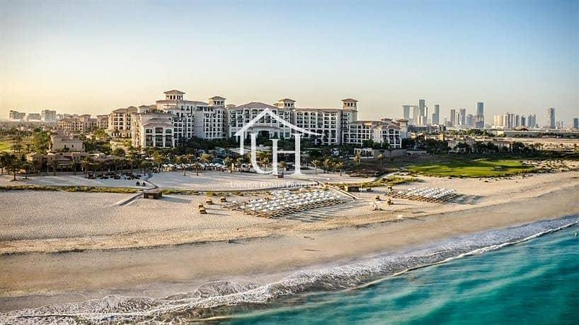 2 Luxury living! Rent Now 1Br + Balcony with a nice view in al saadiyat st.regis residences