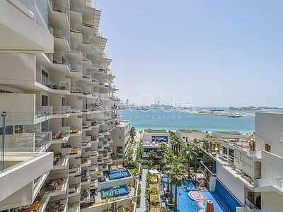 شقة 2 غرفة نوم للايجار في نخلة جميرا، دبي - Modern 2 BR | High Floor | Fully Furnished