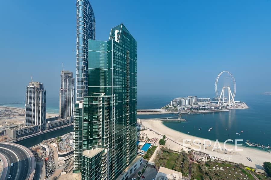 11 Ready to move-in | Large 2Bed | Full Sea Views