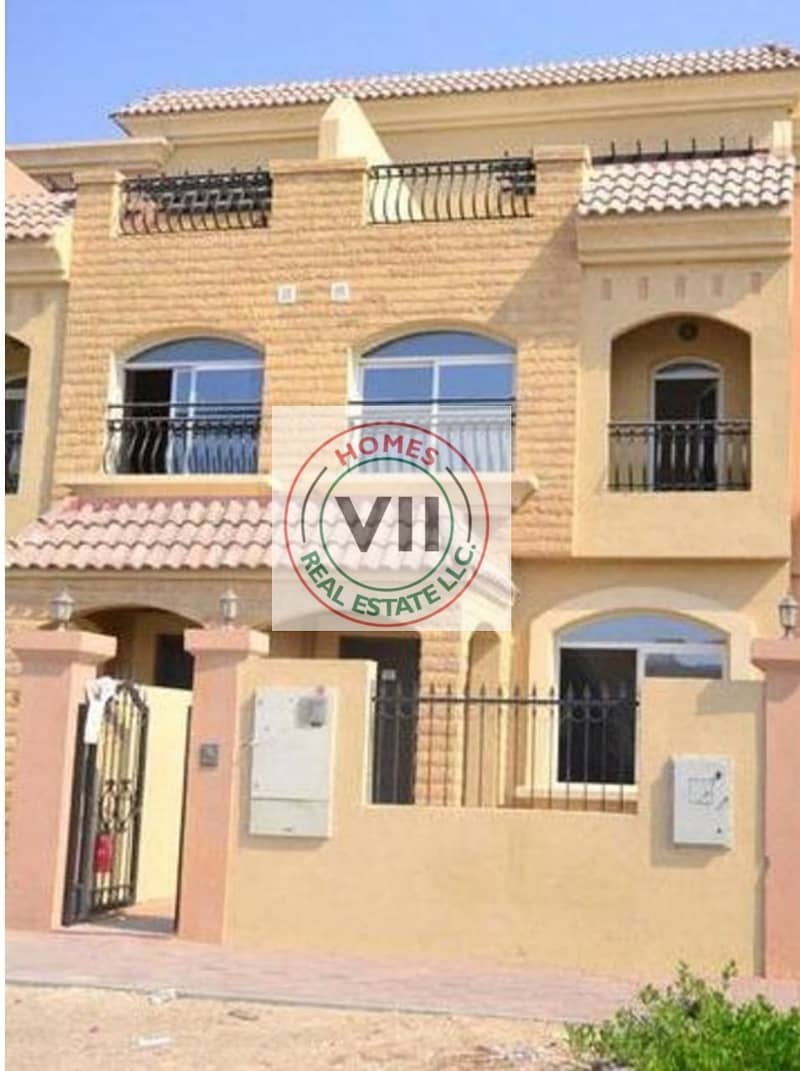 3BR+Maids Room Townhouse For Sale