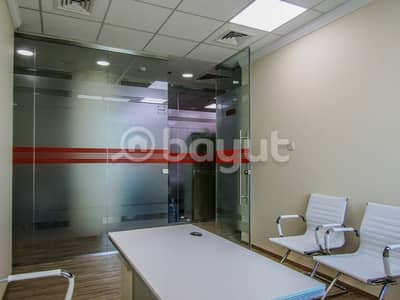 Office for Rent in Bur Dubai, Dubai - SUSTAINABILITY YEARLY CONTRACT WITH SHARING OFFICE OR FLEXIBLE DESK AVAILABLE.