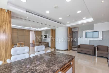 Office for Rent in Jumeirah Lake Towers (JLT), Dubai - Fully Furnished with High Quality Finishes