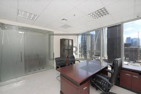 Office for Sale in Jumeirah Lake Towers (JLT), Dubai - Tenanted till Dec | Fully Furnished | 2 Full Partitions