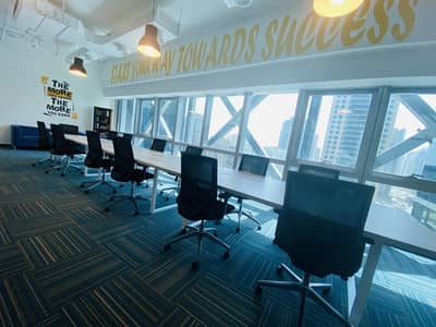 Office for Rent in Barsha Heights (Tecom), Dubai - FURNISHED OFFICE WITH EJARI