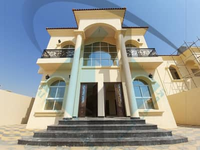 5 Bedroom Villa for Sale in Al Mowaihat, Ajman - Villa for sale in the emirate of Ajman, Al Mowaihat area, from the most beautiful and finest villas in the emirate, very excellent finishes