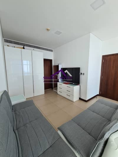 Semi-furnished  2 BR+Maids Apt for rent in DIFC  for AED  120k/yr.
