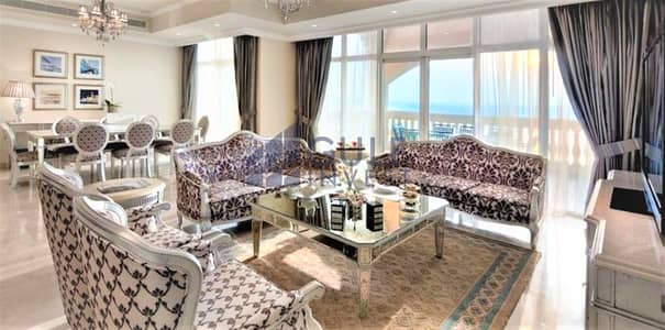 4 Bedroom Flat for Sale in Palm Jumeirah, Dubai - Only 700 dhs/Sq.ft./ Biggest layout with pool