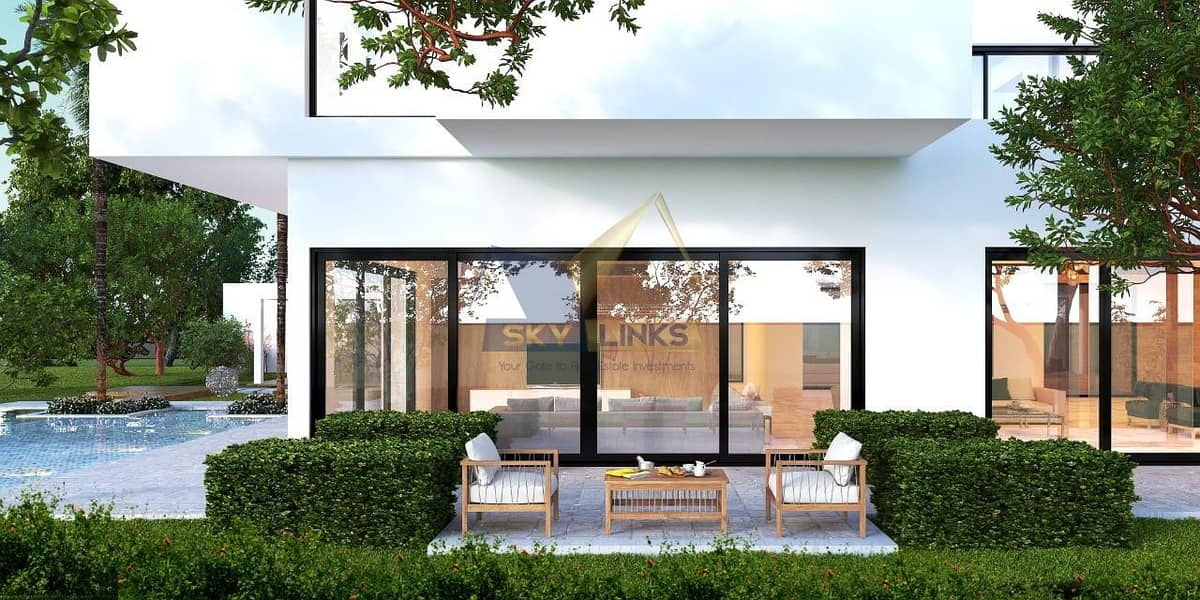 2 Modern  6 Bedroom Contemporary Villa- Large Plot with Pool