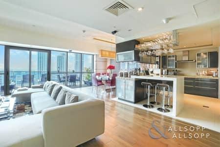 شقة 3 غرف نوم للبيع في دبي مارينا، دبي - Highly Upgraded | Full Marina View | 3 Bed