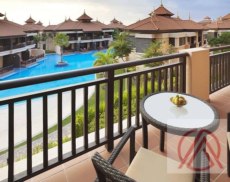 Anantara south pool view 1 BR furnished for 2.25 net