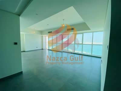 3 Bedroom Apartment for Rent in Corniche Road, Abu Dhabi - Full Sea view 3bhk units with 2 parking! Best Deal