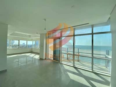 شقة 3 غرف نوم للايجار في شاطئ الراحة، أبوظبي - An Iconic Beautiful Apartment ! Sea View