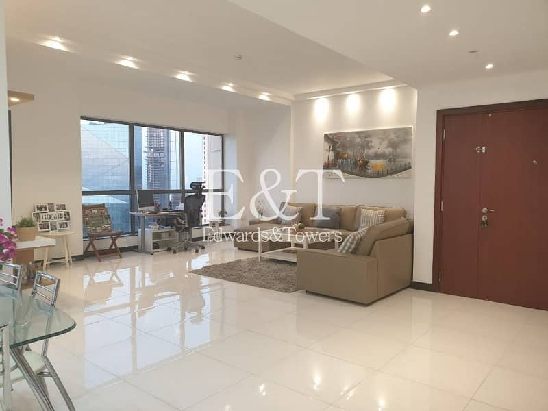 2 3BR with Panoramic Views of the Sea and Dubai Eye