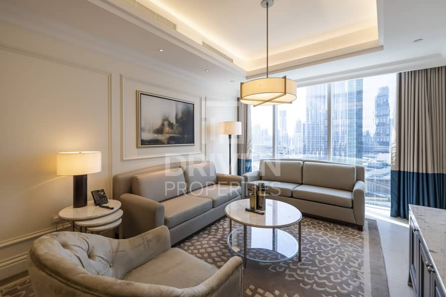 Furnished Apt | Burj Views | All Inclusive