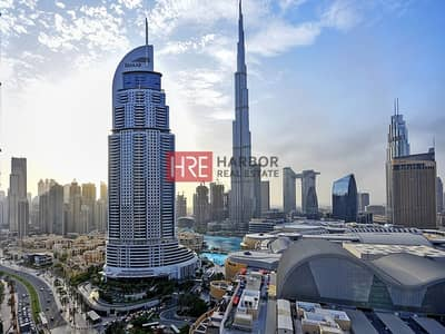 2 Bedroom Hotel Apartment for Rent in Downtown Dubai, Dubai - Exclusive Living I Including Bills I Stunning View