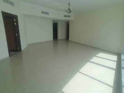 Big size 2 bedroom hall for rent in corniche residence