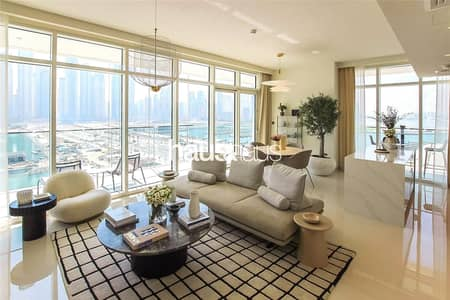 4 Bedroom Flat for Sale in Dubai Harbour, Dubai - Miami Lifestyle| Palm and Sea Views |No Commission