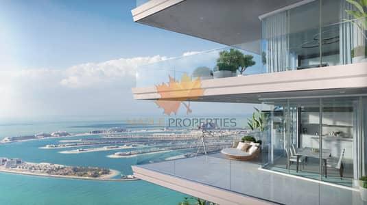 فلیٹ 2 غرفة نوم للبيع في دبي هاربور، دبي - EMAAR BEACHFRONT/PAY 50% AFTER HANDOVER/FLEXIBLE PAYMENT PLAN