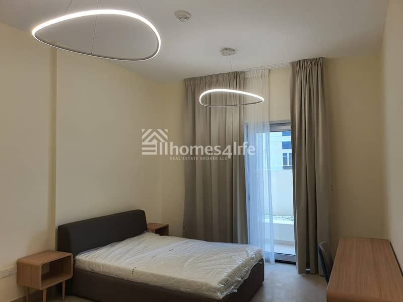 BRAND NEW | FULLY FURNISHED 2 BR APT | LOW FLOOR |