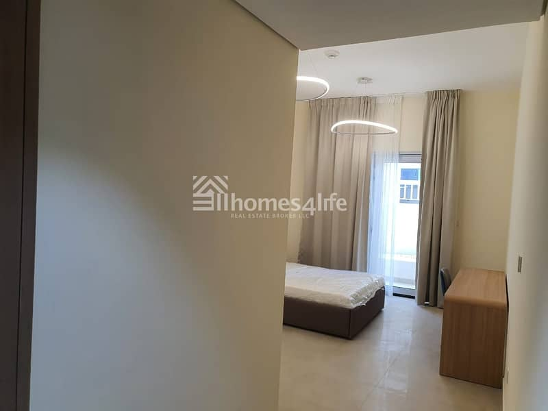 2 BRAND NEW | FULLY FURNISHED 2 BR APT | LOW FLOOR |