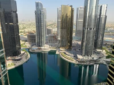 2 Bedroom Apartment for Sale in Jumeirah Lake Towers (JLT), Dubai - High Floor 2 Bedroom in Global Lake View near Metro
