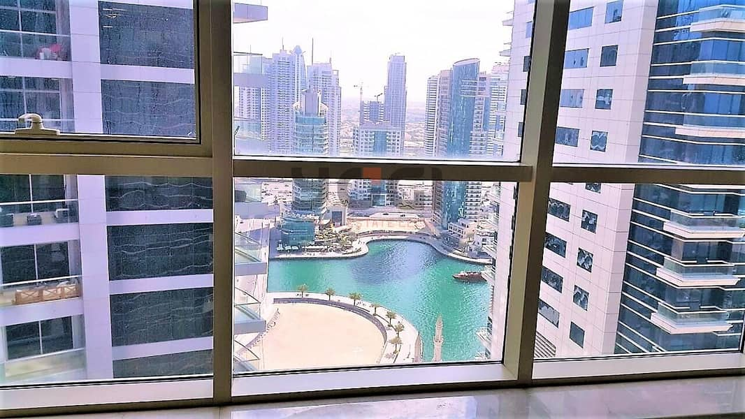 18 2BR- Partial Sea and Marina View | Vacant | Dubai