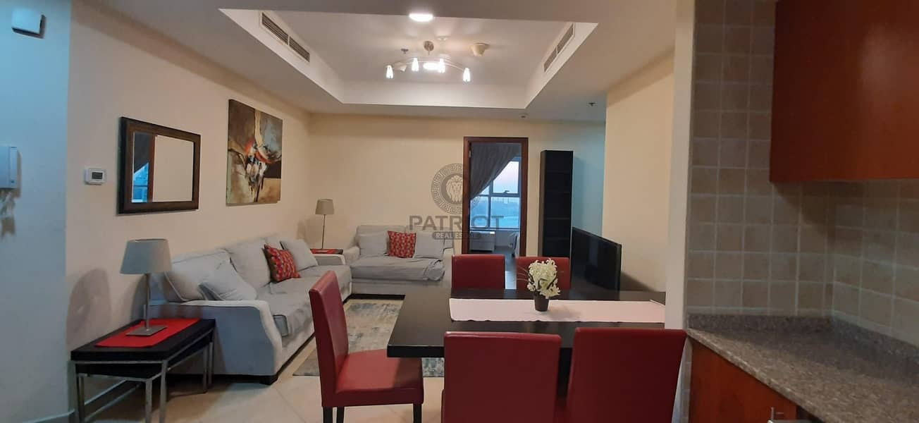 2 2BHK | FURNISHED | DEWA INCLUDED  WITH 12 CHEQUES