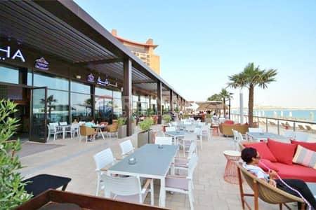 شقة 1 غرفة نوم للايجار في نخلة جميرا، دبي - Fully Furnished 1 Bedroom | Sea View|Shoreline Apt