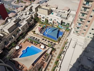 2 Bedroom Flat for Rent in Jumeirah Village Triangle (JVT), Dubai - Marina + Pool View | 2Bedroom+Balcony | Best Price