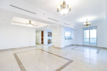3 Bedroom Penthouse for Rent in Dubai Marina, Dubai - Exclusive and Spacious | Marina and City View