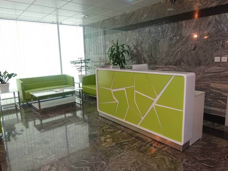 BEST DEAL FOR SEPARATE OFFICE AVAILABLE IN AL GARHOUD FOR LEASE@220SQ. FT