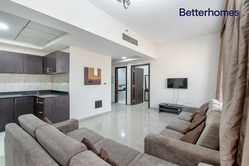 Fully Furnished | Vacant | Huge Terrace | JVC
