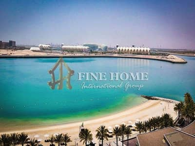 1 Bedroom Apartment for Sale in Al Raha Beach, Abu Dhabi - invest Now 1BR with a soothing Sea View