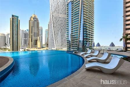 استوديو  للبيع في دبي مارينا، دبي - Large Studio Suite |No DLD Fee |3 Yrs Payment Plan