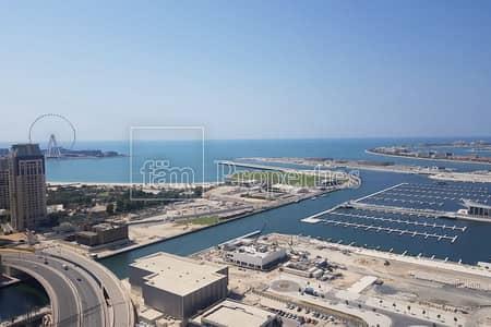 شقة 3 غرف نوم للبيع في دبي مارينا، دبي - Full Sea View from all rooms   BEST Corner Layout
