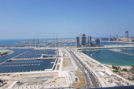3 Bedroom Apartment for Sale in Dubai Marina, Dubai - Full Sea View from all rooms | BEST Corner Layout