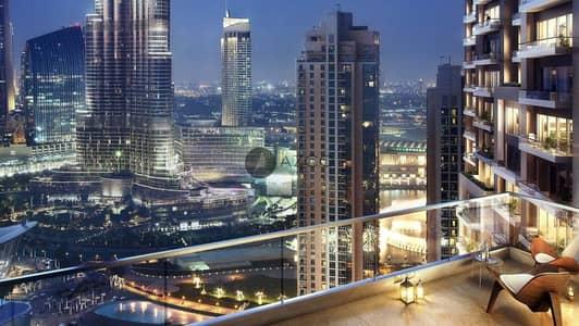 شقة 4 غرف نوم للبيع في وسط مدينة دبي، دبي - 60% Post Handover P-Plan 3Yrs|Burj Fountain View