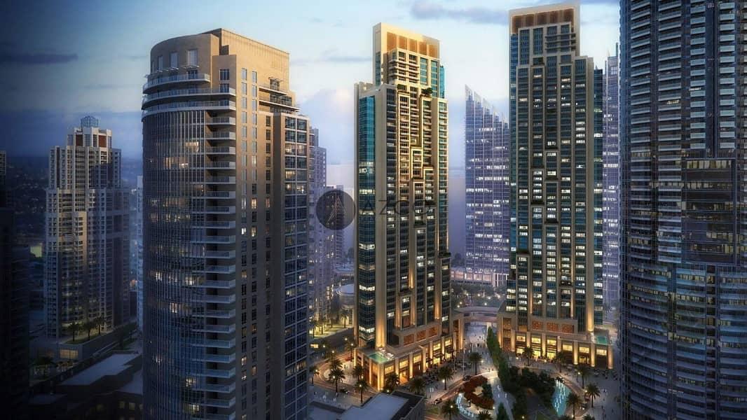 11 60% Post Handover P-Plan 3Yrs Burj Fountain View
