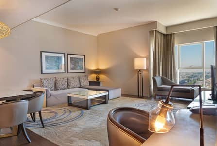 Spacious Furnished Two Bedroom Apartment Downtown Abu Dhabi
