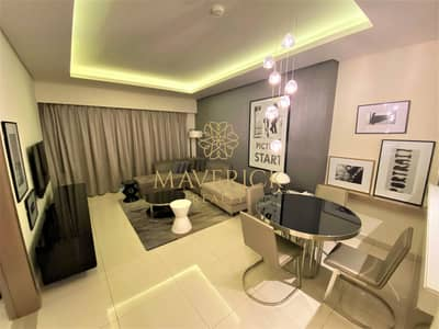 Luxury 1BR | Fully Furnished | 4 Cheques