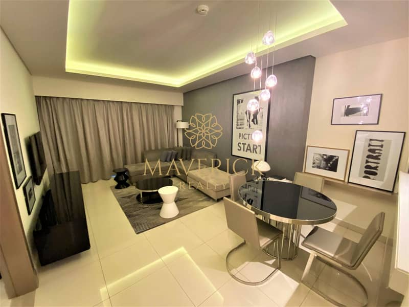 2 Luxury 1BR | Fully Furnished | 4 Cheques