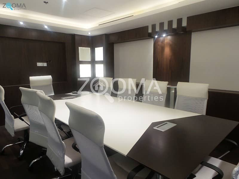 10 High Floor   Modern Fitted Office   10% ROI