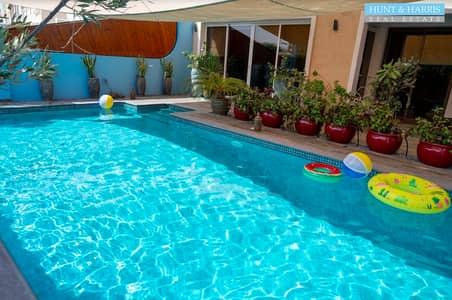 4 Bedroom Townhouse for Sale in Al Hamra Village, Ras Al Khaimah - 4 Bedroom - Luxurious Townhouse - Private Pool